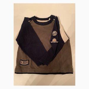 Used Boys Point Zero Long Sleeve Shirt 3T